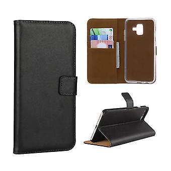 Material certificado® Samsung Galaxy S7 Edge - Carteira Flip Case Capa Cas Case Wallet Preto