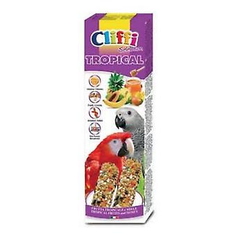 Cliffi Large Parrot Fruit Snacks Trop / honey 2Pz/150Grs Cliffi (Birds , Bird Treats)