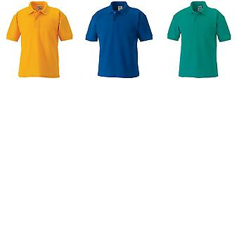 Jerzees Schoolgear Childrens 65/35 Pique Polo Shirt (Pack of 2)