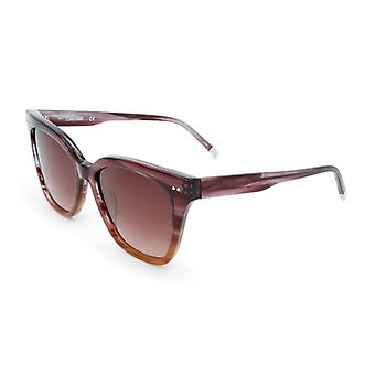 Calvin klein dames's zonnebrillen bruin ck4359s