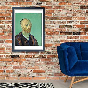 Vincent Van Gogh - Selbstbildnis, 1888 02 Poster Print Giclee