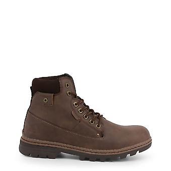 Carrera Jeans Originele Heren Herfst/Winter enkellaars - Bruine kleur 35737