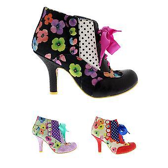 Womens Irregular Choice Blair Elfglow Mid Heels Floral Court Shoes