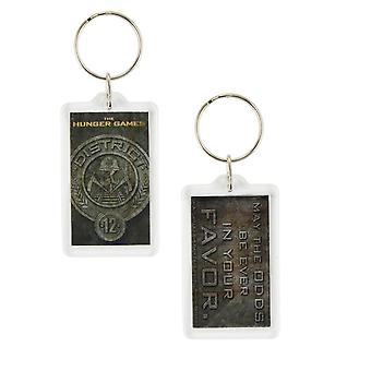 The Hunger Games Lucite Keychain