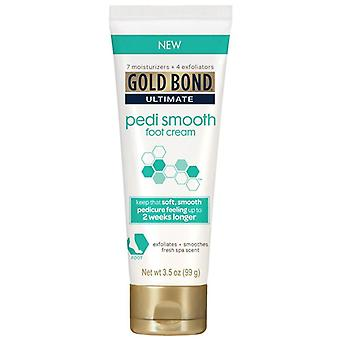 Gold bond ultimate pedi smooth foot cream, 3.5 oz