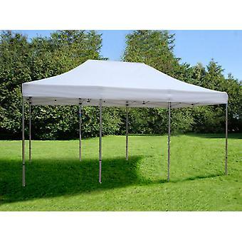 Vouwtent/Easy up tent FleXtents Steel 4x6m Wit