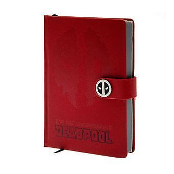 Premium A5 Notebook-Deadpool