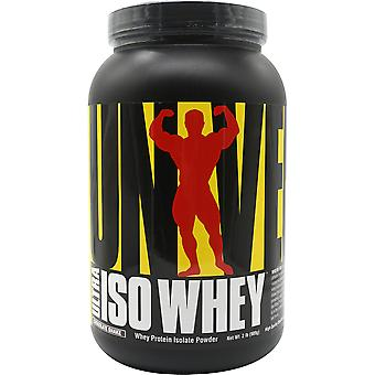 Universal Nutrition Ultra Iso Whey Supplement - 30 Servings - Chocolate Shake