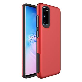 For Samsung Galaxy S20 Case Shockproof Protective Cover Red