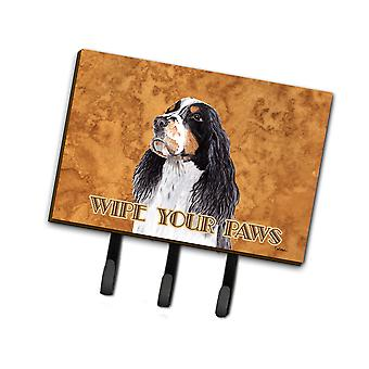 Carolines Treasures  SC9134TH68 Springer Spaniel Wipe your Paws Leash or Key Hol