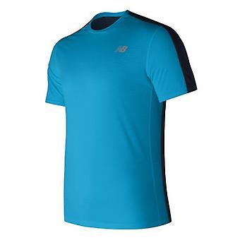 Miesten lyhythihainen T-paita New Balance MT73061MLE Sininen/S