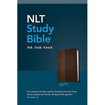 NLT Study Bible - Tutone Twilight Blue/Brown by Tyndale - 97814964166