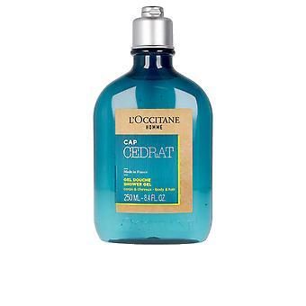 L´occitane Cap Cedrat Shower Gel 250 Ml For Men