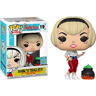Sabrina the Teenage Witch w/ Cauldron SDCC 2019 US Excl Pop!