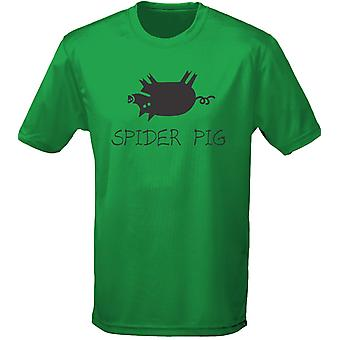 Spider Pig Mens T-Shirt 10 Colours (S-3XL) by swagwear