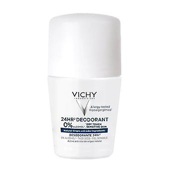 Vichy desodorizante 24 horas de alumínio roll Free em 50ml