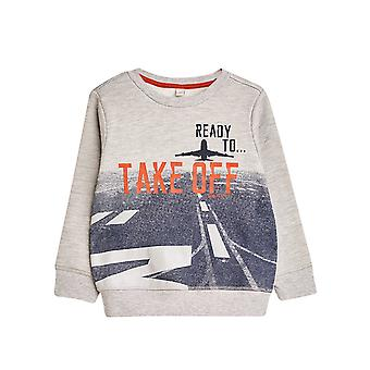 Esprit Boys' Jumper With A Photo Print On The Front