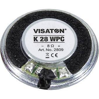 Visaton K 28 WPC 1.1 inch 2.8 cm Speaker chassis 1 W 8 Ω