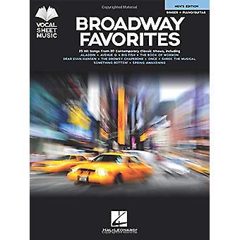 BROADWAY FAVORITES MENS EDITION VOCAL BK by Hal Leonard Publishing Co