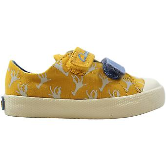Clarks Halcy Hop Yellow 26108022 Toddler