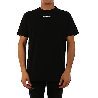 T-shirt Omaa027e20jer0051045 Homme-apos;s Black Cotton
