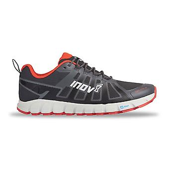 Inov8 Terraultra 260 mens bredere montage & Zero drop Trail Running Shoes grijs/rood