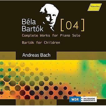 Bartok - Bartok for Children [CD] USA import