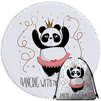 Dansen Panda strandlaken