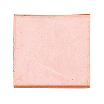 Koper blanks vierkant pak van 6 25mm X 1mm