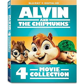 Alvin & the Chipmunks 4-Movie Collection [Blu-ray] USA import