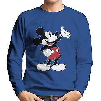 Disney Mikke Mus hånd gest menn ' s Pullover
