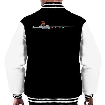 Star Wars Christmas Ewok Speeder Bike Men's Varsity Jacket