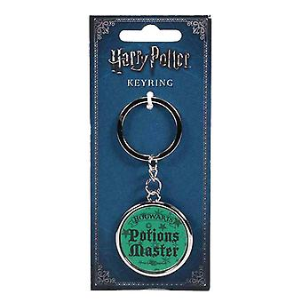 Harry Potter Keyring Keychain Hogwarts Potions Master new Official Green