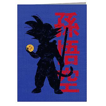 Dragon Ball Get All Seven Greeting Card