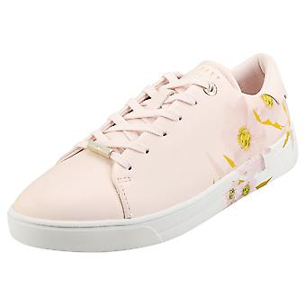 Ted Baker Lennec Womens Fashion Trainers in Light Pink