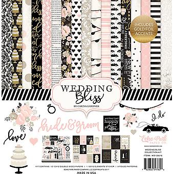 Echo Park Wedding Bliss 12x12 Inch Collection Kit