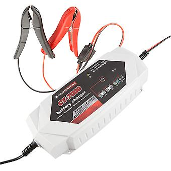 Battery Charger & Maintainer Portable Automatic 12V/24V 7 Amp Car Motorcycle