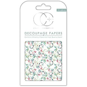 Craft Consortium Sun Kissed Decoupage Papers