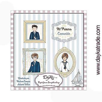 DayKa Trade Mi Primera Comunion Nino 8x8 Inch Paper pad