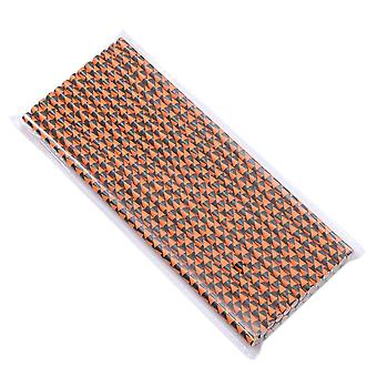 25PCS Disposable Party Decor Paper Drinking Straws 197MM Style 3