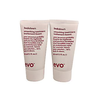 evo Lockdown Leave in Smoothing Treatment DUO 1.1 OZ Elk