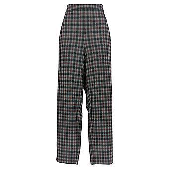 Joan Rivers Femmes-apos;s Plus Pantalon à carreaux longueur régulière Gris A299573