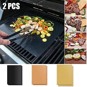 Non Stick Bbq Grill Tampoane, Gratar de coacere reutilizabile placă de gătit, Grill Mat
