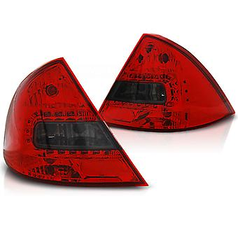 FEUX ARRIÈRE FORD MONDEO MK3 09 00-07 RED SMOKE LED
