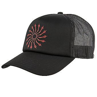 Lost wheel of life trucker hat