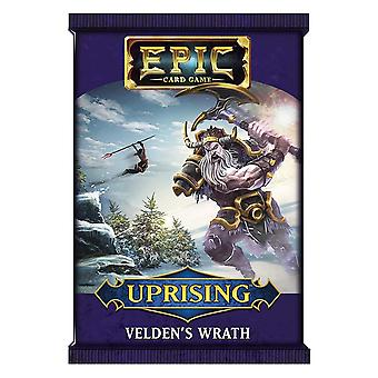 Epic Card Game Uprising - Velden's Wrath Booster