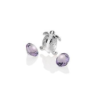 Anais heiße Diamanten Anais Sterling Silber Schildkröte Charme AC011