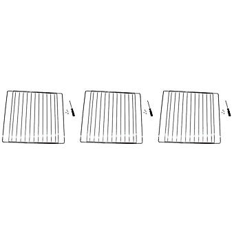 3 x Universal Oven Cooker Grill Shelf Grid Rack Fits Atag and Beko