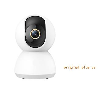 Smart Camera 2k Ip Cam Webcam Camcorder, With 360 Angle -wifi Wireless Night