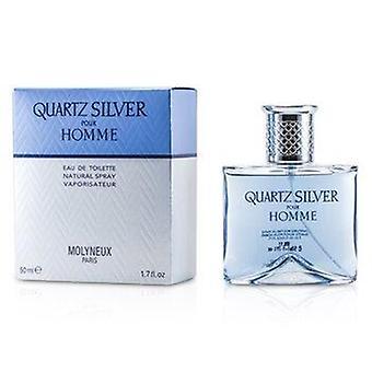 Zilveren Quartz Eau De Toilette Spray 50ml of 1,7oz